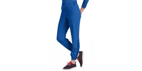 Pantalon style jogger à empiècements