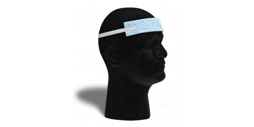 Bandeau serre-tête en caoutchouc mousse avec attache élastique
