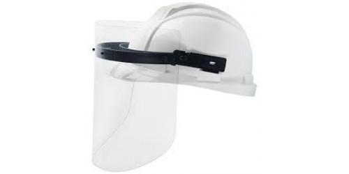 Harnais pour casque de sécurité avec visière