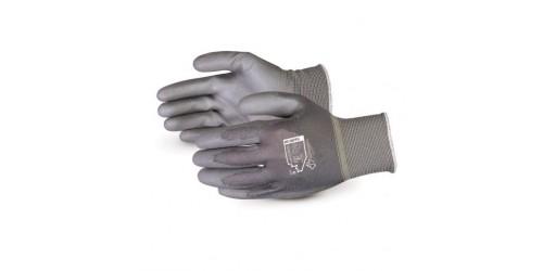 Superior Touch® Gants en tricot de polyester non pelucheux jauge 13 avec paume enduite de polyuréthane